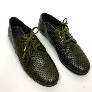 Tory Burch Lace Up Oxford Shoes